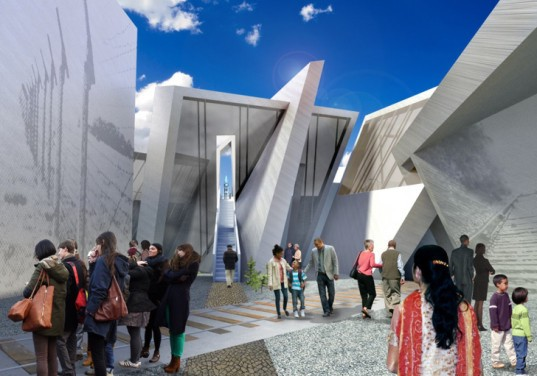 Libeskind Monument Rendering