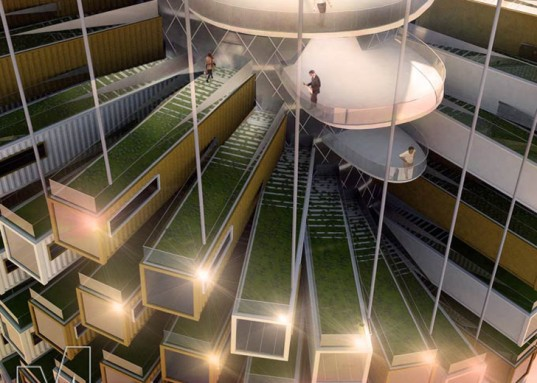 Los Angeles M-Rad, M-Rad Studio, Matthew Rosenberg, Los Angeles, climate change, ecological footprint,  eco-conscious, green tower, mix-use tower, green architecture