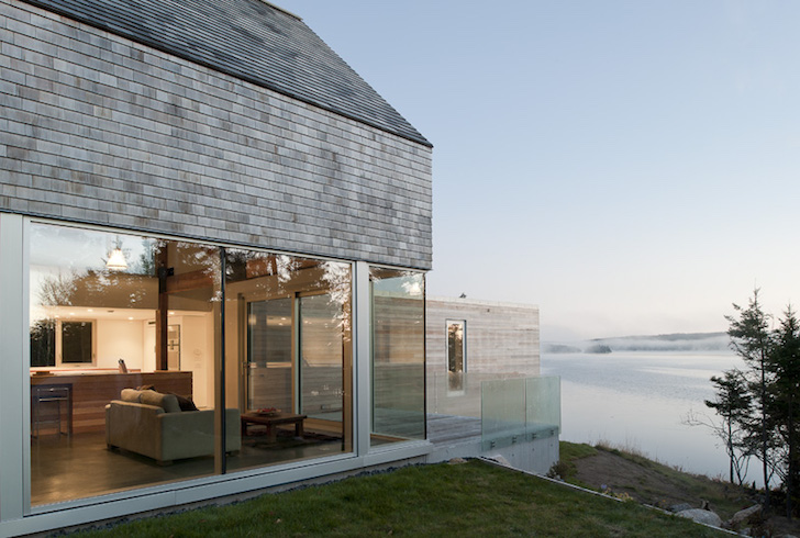 Passive Solar Martin Lancaster House Is Wrapped In Glass