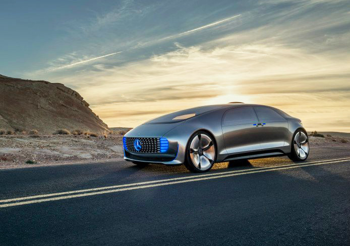 Mercedes-Benz unveils self-driving, hydrogen-powered F 015 ...