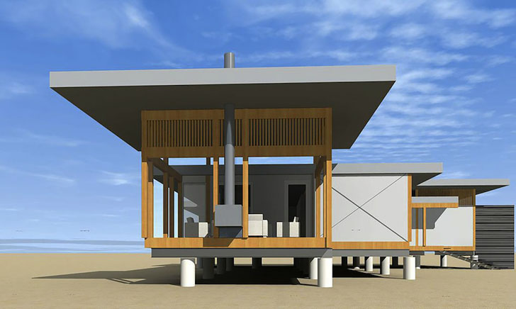 Plans For Affordable Micropolis Houses Can Be Purchased And