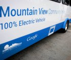 Google gives free electric community shuttle buses to Mountain View