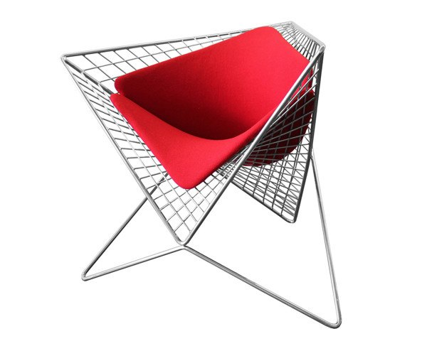 Carlo Aiello's stunning Parabola Chair is inspired by