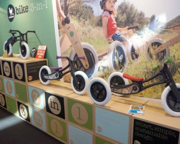 New Zealand Company Turns Old Carpet Into Cool Bicycles For Kids