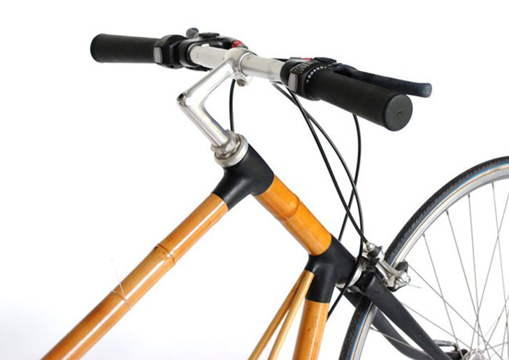 This clever bamboo bike charges mobile devices | Inhabitat - Green ...