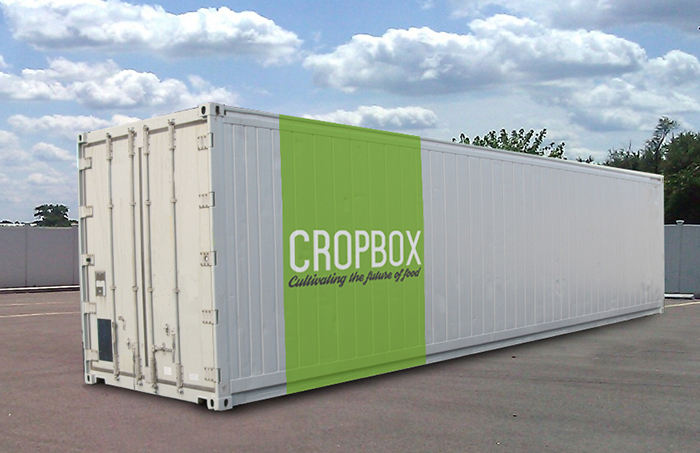 Cropbox Pop Up Shipping Container Farms Allow You To Have