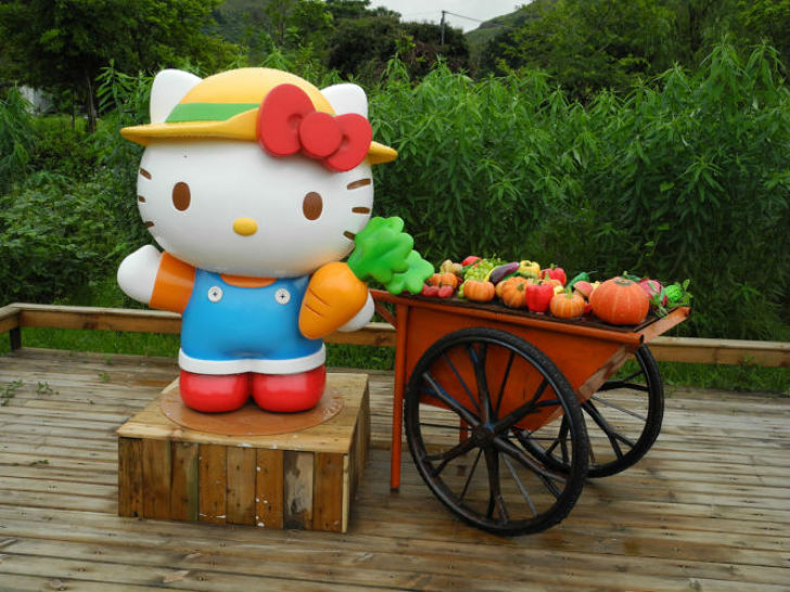 12bd0f95a Hello Kitty turns Hong Kong organic garden into educational tourist  attraction