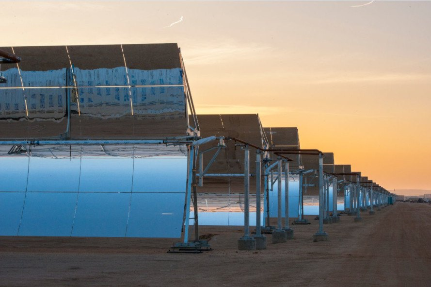 Grand Opening! The Mojave Solar Project is now officially fully