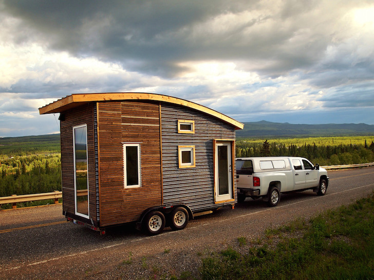 Green Design Keeps This Tiny Mobile Home Warm In Canadau0027s Below Freezing  Winters Version 3 By Leaf House U2013 Inhabitat   Green Design, Innovation, ...