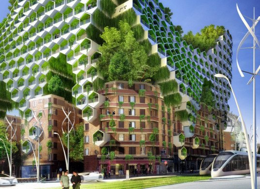 Paris smart city, paris city plan, climate change plan, france climate change, france smart city, vincent callebaut, vincent callebaut architecture, paris architecture