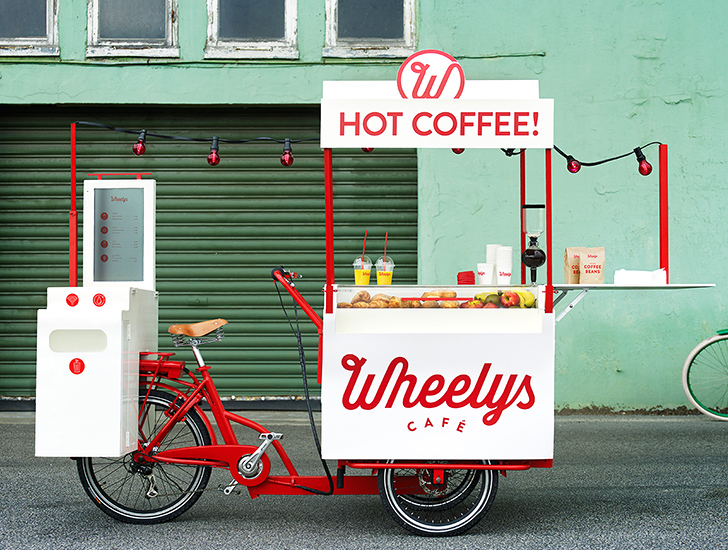Now You Can Buy One Of Wheelys New Bicycle Cafes On Indiegogo