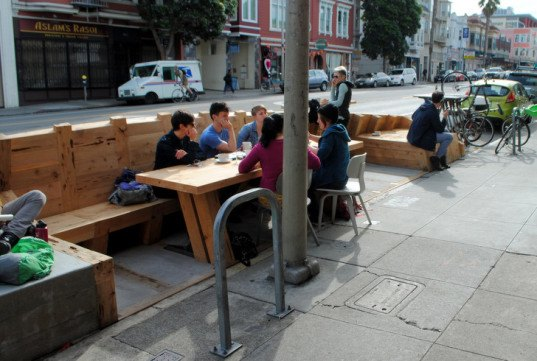 parklet, san francisco, public space, shipwreck, ritual coffee, mission, valencia, public space, boor bridges