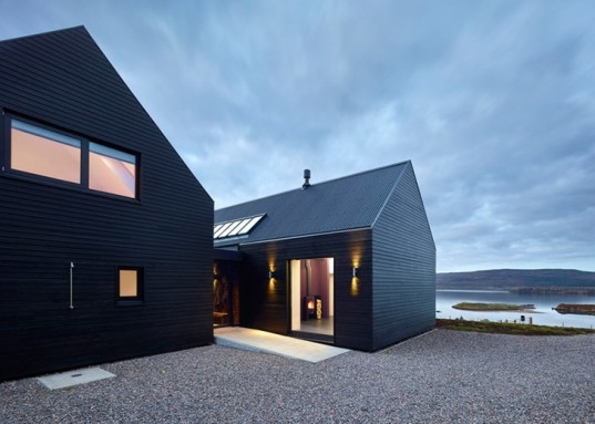 Black Colbost House, Black houses, Isle of Skye, Dualchas Architects, Dualchas Architects Colbost, Dualchas Architects black house, Dualchas Architects Isle of Skye, Isle of Skye architecture, black home, minimalist design, clean design, clean architecture, black architecture