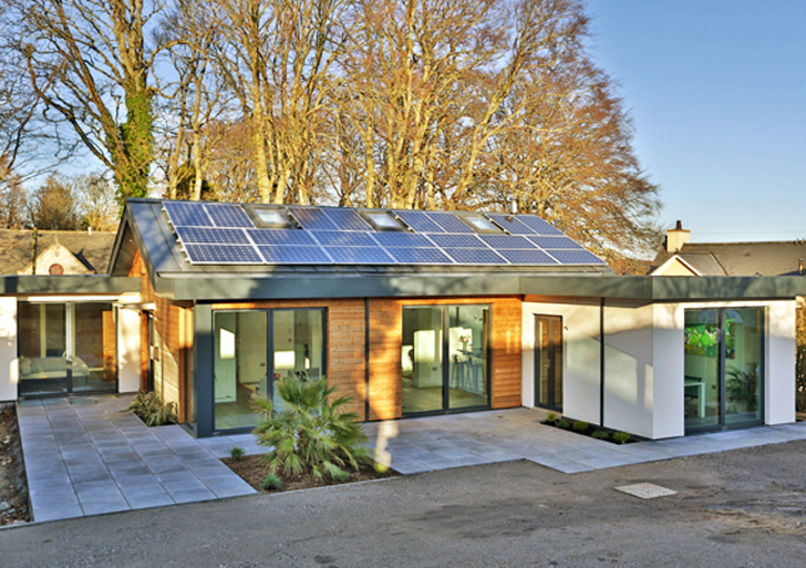 Build A Modular Home aberdeen's schoolmasters home banishes pre-fab preconceptions in