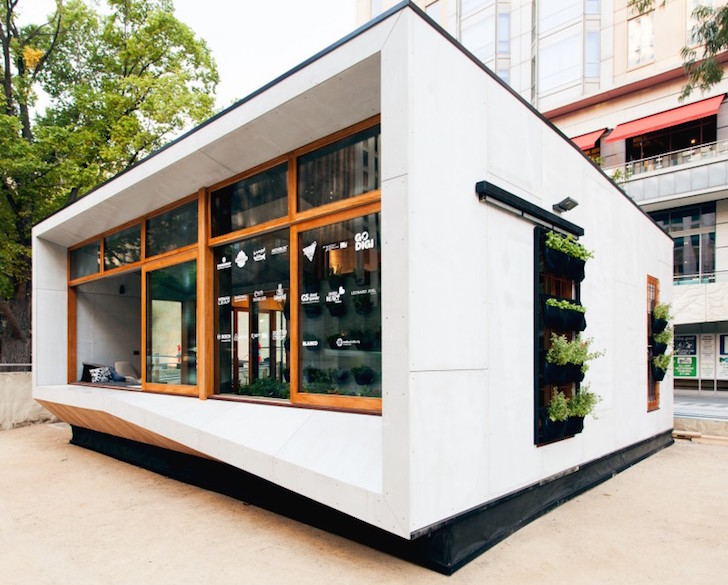 Australia S First Carbon Positive Prefab House Produces More Energy Than It Consumes Inhabitat