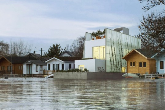 Carl Turner Floating House with neighbors