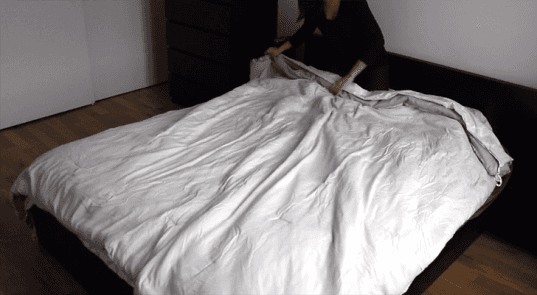 The Ingenious Duvet Cover Trick That Will Change Your Life