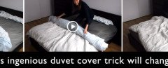 Amazing Duvet Cover Trick