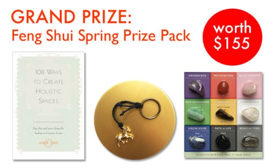 feng shui, how to feng shui, chinese new year, chinese new year 2015, how to create a holistic space, chinese new year feng shui, how to feng shui your home, angie cho, angie cho feng shui nyc, how to feng shui book, giveaway, feng shui giveaway, contest, inhabitat giveaway, chinese new year giveaway