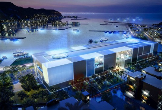 Foster + Partners, Taiwan, Keelung, Badouzi harbor, National Museum of Marine Science and Technology, mixed use, Norman Foster, Keelung Aquarium, Aquarium in Keelung, aquarium, aquarium design,