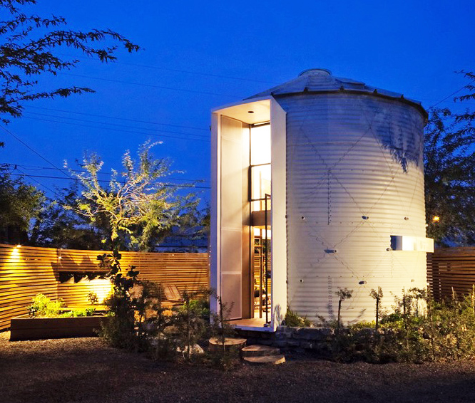 Mid-century Grain Silo Transformed Into A Gorgeous