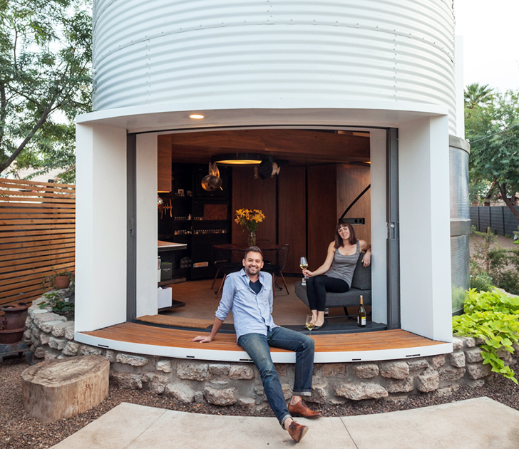 tiny houses in arizona. Silo, Converted Silo Home, Grain Adaptive Tiny Houses In Arizona