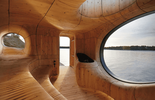 sauna, sauna design, sustainable sauna, green sauna, architecture, design, green architecture, sustainable architecture, sauna architecture, Grotto Sauna, Toronto, Canada, Sans Souci