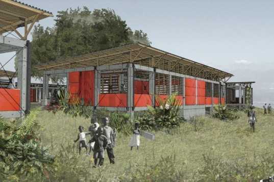 haiti childrens academy, bar architects, Architecture for Humanity, AFH, humanitarian design, humanitarian design, green building, sustainable design, architecture for humanity closing