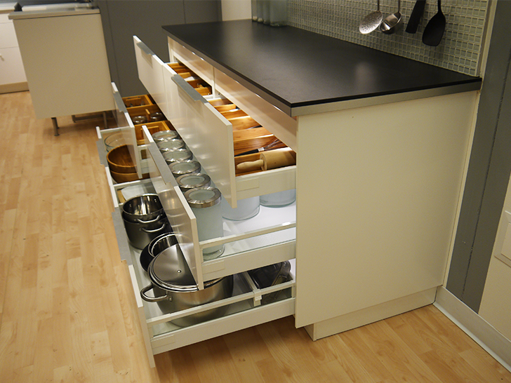 Kitchen Design Drawers Vs Cabinets ikea debuts 2015 sektion kitchen line filled with ultra-efficient