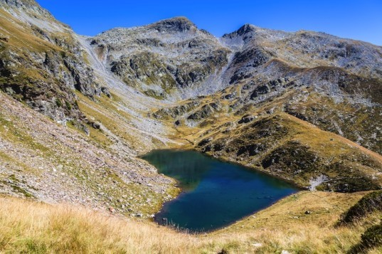 Lagh de Calvaresc, Lac de Calvaresc, Lake Calvaresc, Grisons, Switzerland , Calanca Mountain Trail