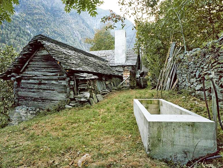 200 Year Old Stone Structure Hides A Modern And Minimalist Summer