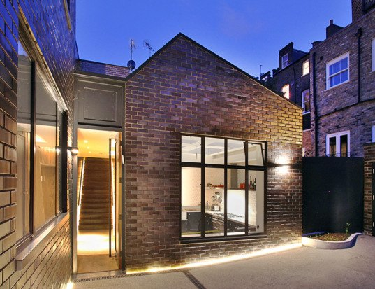 Patalab Architects, the Gables, london architecture, london garage conversion, residence design, urban design, thermal performance, remodelation, garage renovation, 1950 buidings london, architecture,