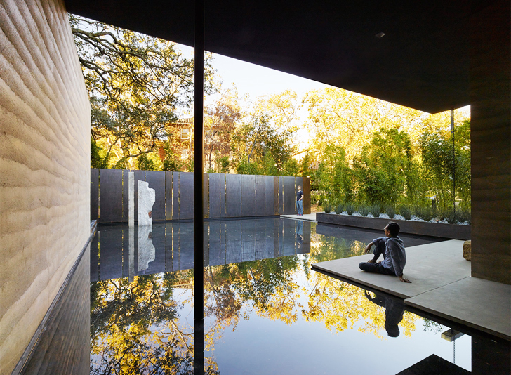 Rammed Earth Makes A Zen Splash At Stanford S Windhover