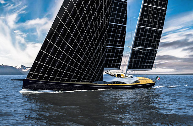 Helios Concept Yacht Harvests Solar Power To Explore The