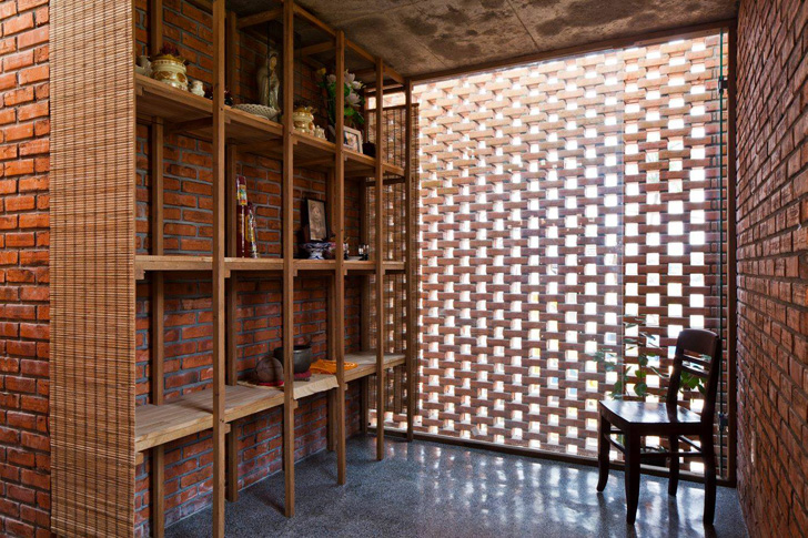 Passively Cooled Termitary House In Vietnam Is Wrapped In