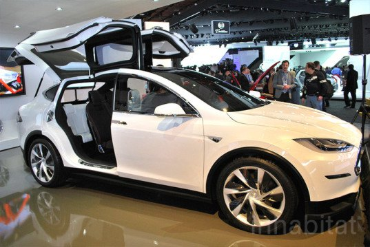 Tesla, Tesla Model X, Tesla video, Model X, Tesla SUV, Video, electric car, electric SUV, green car, green transportation, california, automotive