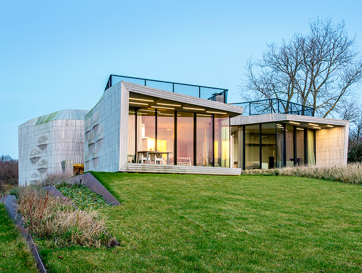 Unstudio 39 S Remote Controllable W I N D House Is The Home