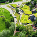 Zeimuls Center, Latvia, SAALS Architecture, green roof, green-roofed architecture, green architecture, terrain