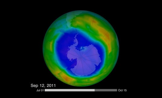 ozone layer, ozone, uncontrolled, chemical, vsls, dichloromethane, university of leeds, climate, climate change, noaa, cfcs, montreal protocol