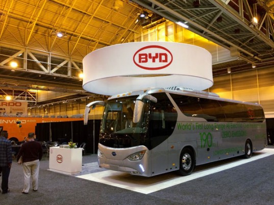 byd, byd motors, green transportation, mass transit, electric bus, electric car