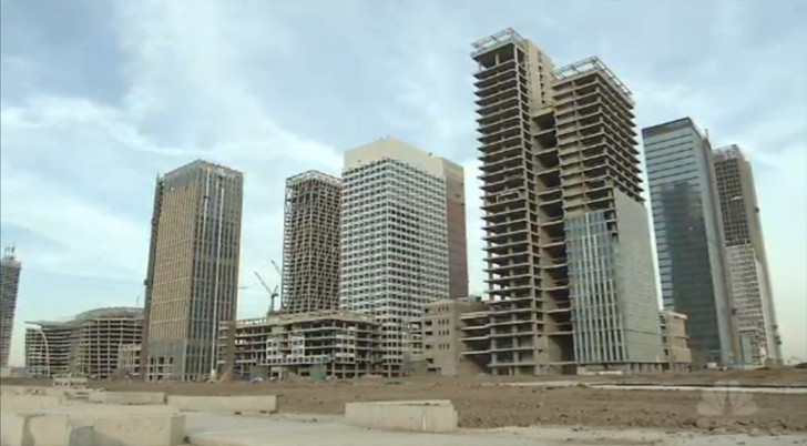 China S Replica Manhattan Is A Half Built Abandoned Ghost