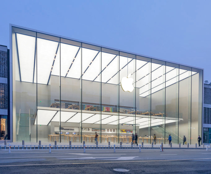 Foster Partners Debuts Apple Store In China To Usher In