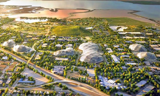 google, big, bjarke ingels, thomas heatherwick, heatherwick studio, googleplex, campus, silicon valley, california, biosphere, sustainable design, green design, greenhouses