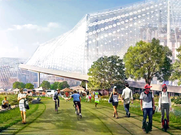 Video Google S New California Headquarters Is A
