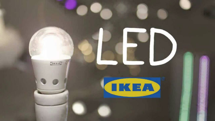 Ikea increases sales of sustainable products to 1 billion for Lampadine ikea led