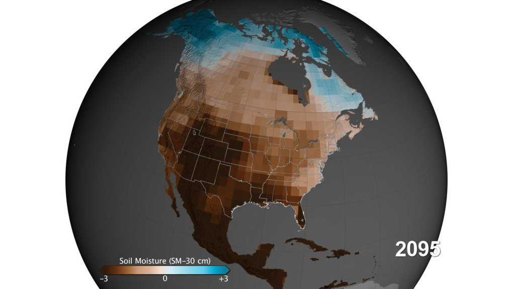 US To Face Worst Droughts In Years Says New Study - Us droup map california chage