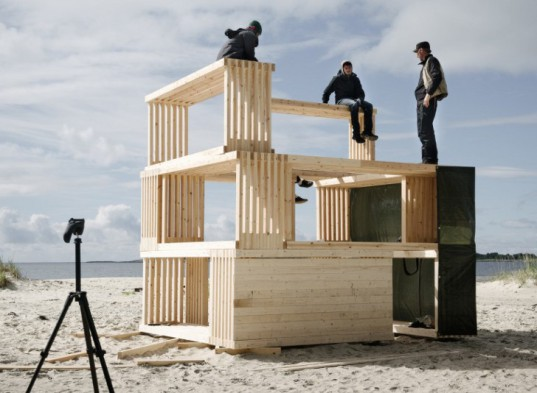 salt, shelter, arctic, norway, festival, tiny house, camping, modular building