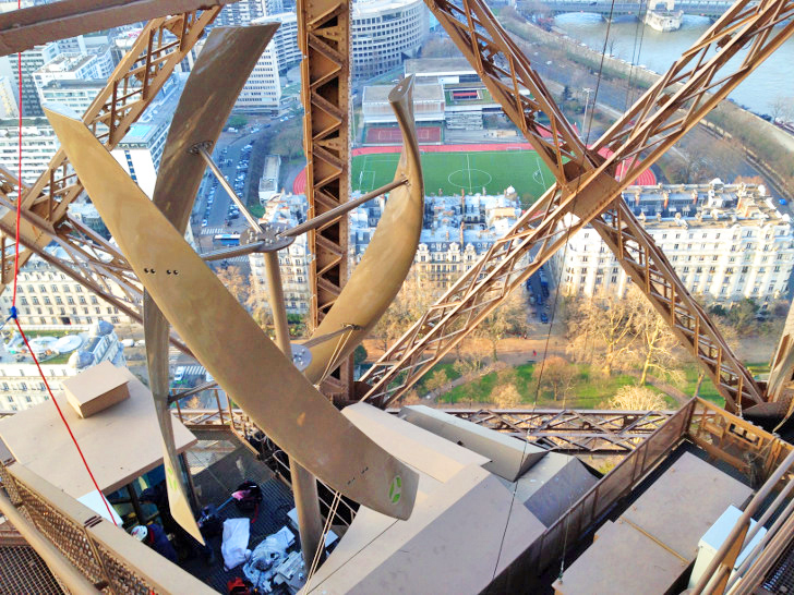 UGE's Vertical Axis Wind Turbines now provide green power for the Eiffel Tower