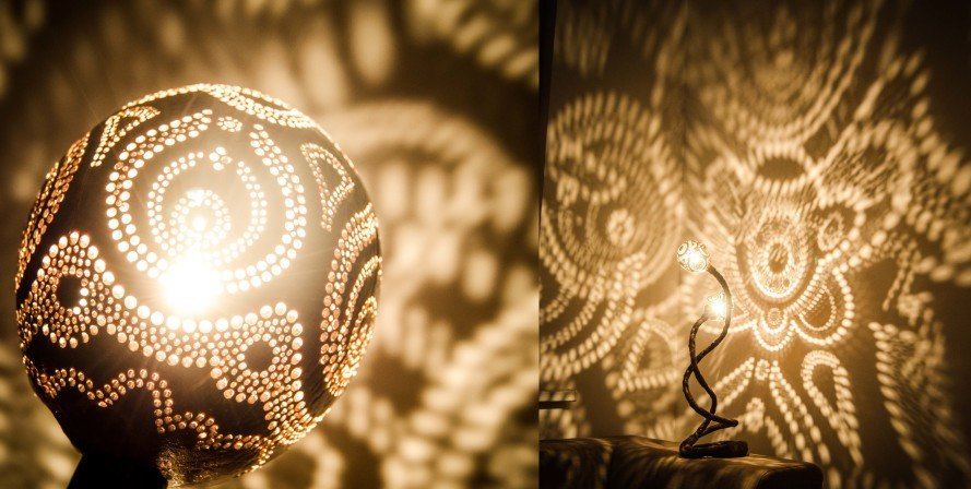 Nymph S Work Makes Unique Handcrafted Lamps Out Of