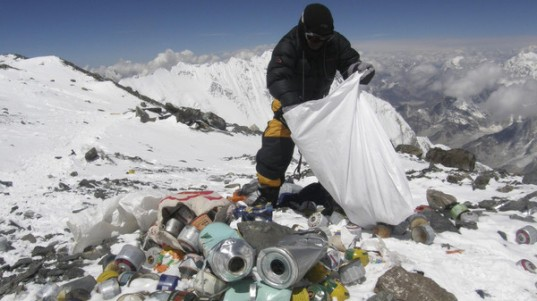 Mount Everest, Himalayas, nepal mountaineering association, climbers, human waste, human poo, mountain climbers